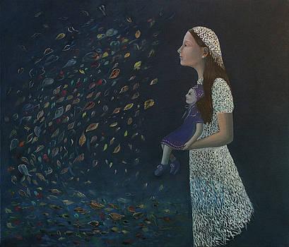 Miss Frost Watching the Autumn Dance by Tone Aanderaa