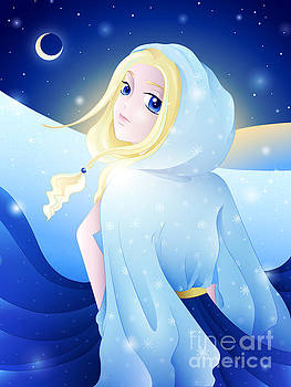 Miss Winter-Night by Sandra Hoefer