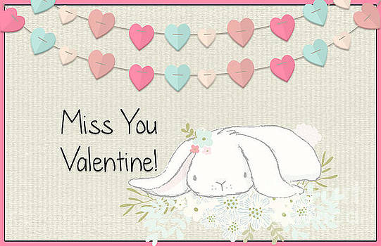 Miss You Valentine by Pam  Holdsworth