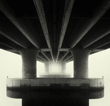 Mission Bay Drive Bridge by William Dunigan