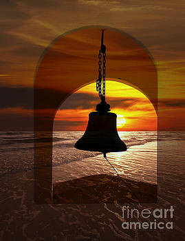 Mission Bell In The Dry Arc Of Panama by Al Bourassa