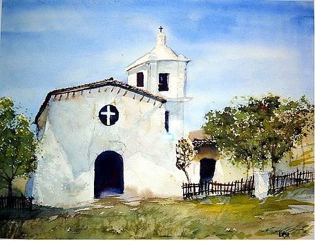 Mission Church by Lisa Bruder