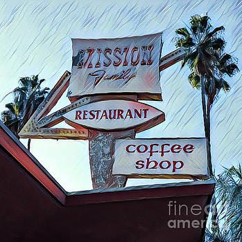 Gregory Dyer - Mission Family Restaurant Vintage Sign
