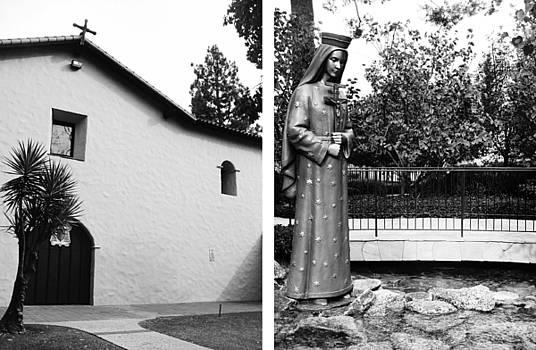 Mission San Fernando Rey de Espana No1 by Mic DBernardo