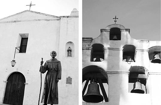 Mission San Gabriel Arcangel No1 by Mic DBernardo