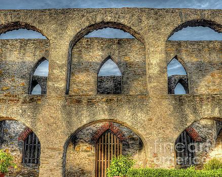 Mission San Jose Arches by Michael Tidwell