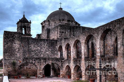 Mission San Jose Arches by Wayne Moran