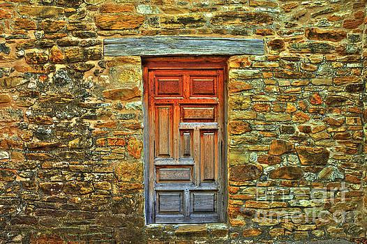Mission San Jose Door by Michael Tidwell