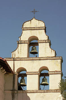 Art Block Collections - Mission San Juan Bautista Bell Wall