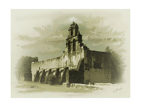 Mission San Juan by Cliff Hawley