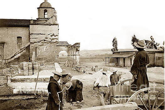 California Views Mr Pat Hathaway Archives - Mission San Luis Rey de Francia is a former Spanish mission circa 1904
