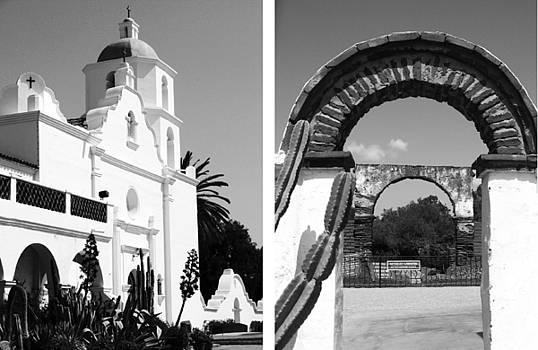 Mission San Luis Rey de Francia No1 by Mic DBernardo