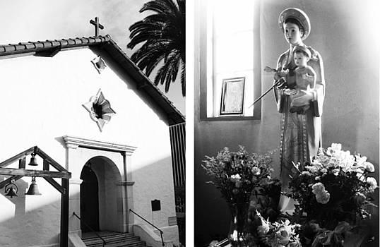 Mission San Rafael Arcangel No1 by Mic DBernardo