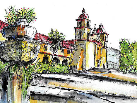Mission Santa Barbara by Terry Banderas