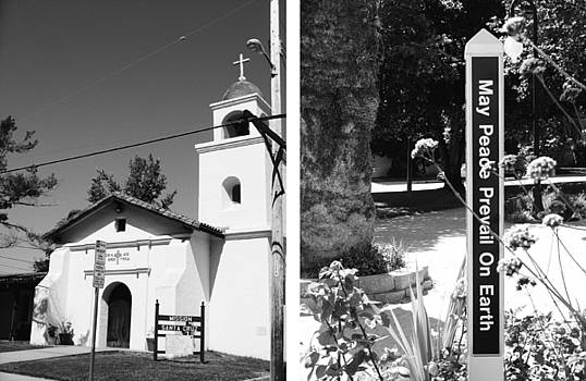 Mission Santa Cruz No1 by Mic DBernardo