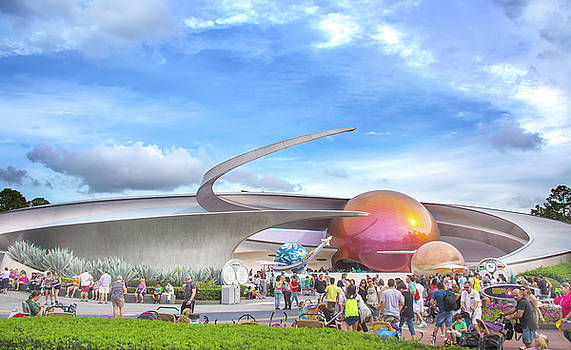 Mission Space by Mark Andrew Thomas