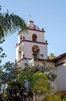 Mission Ventura Bell Tower by Art Block Collections