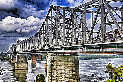 Dennis Cox WorldViews - Mississippi River Bridge