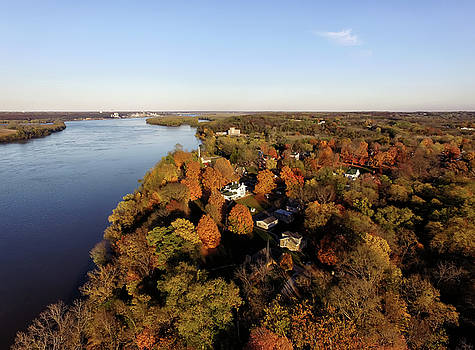 Mississippi River in Fall by Robert Turek