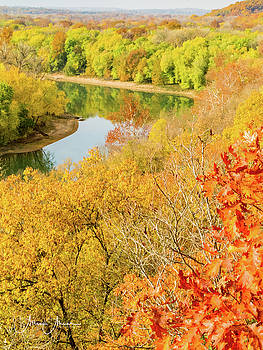 Missouri River Overlook by Allen Ahner