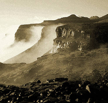 Mist in Lesotho by Susie Rieple
