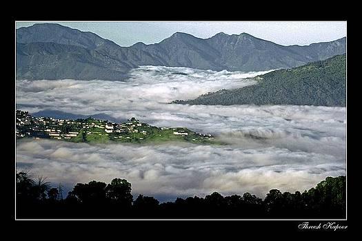 Mist Lake by Threesh Kapoor