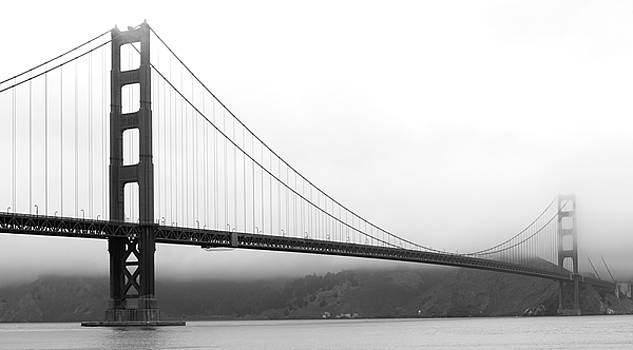 Mist Over Golden Gate by Maj Seda