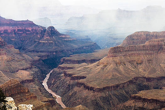 Mist Over the Canyon by Ed Gleichman