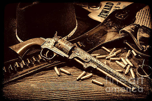 Mister Durant's Revolver by American West Legend By Olivier Le Queinec