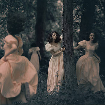 Misterious Forest by Anka Zhuravleva