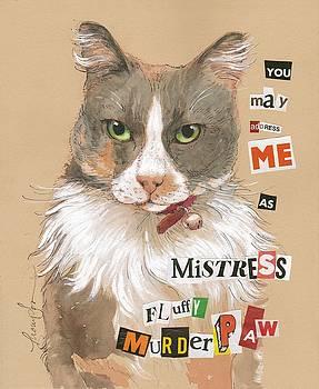 Mistress Fluffy Murderpaw by Tracie Thompson