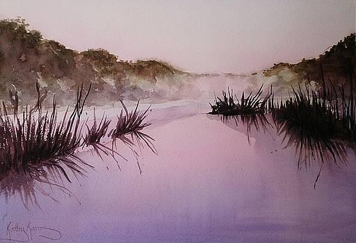 Misty Dawn by Kathy  Karas