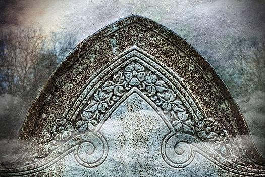 Misty Grave Victorian Headstone by Melissa Bittinger