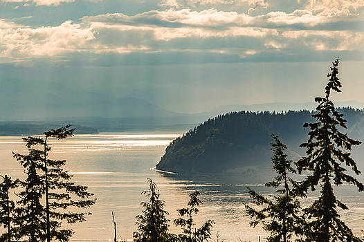 Misty Island by Ed Clark