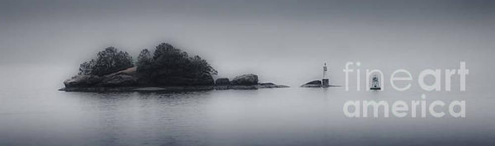 Misty Island by Jerry Fornarotto