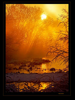 Misty Kentucky Sunrise by Keith Bridgman