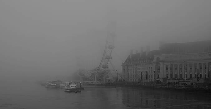 Misty London Eye by Maj Seda