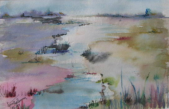 Misty Marsh by Dorothy Herron