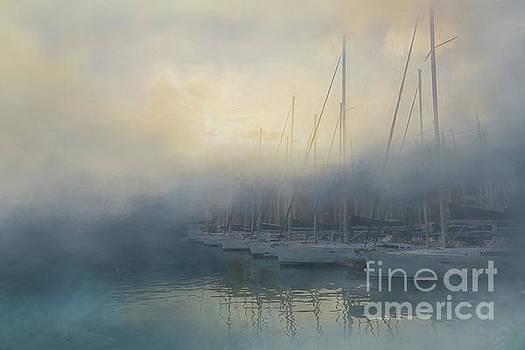 Misty Mooring by Kelley Freel-Ebner