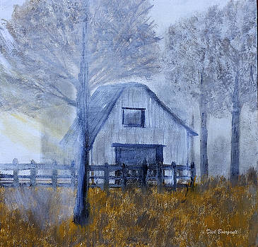 Misty Morning by Dick Bourgault