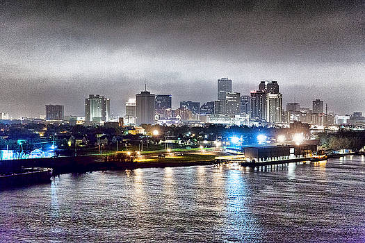 Misty Morning in New Orleans by Dan Dooley