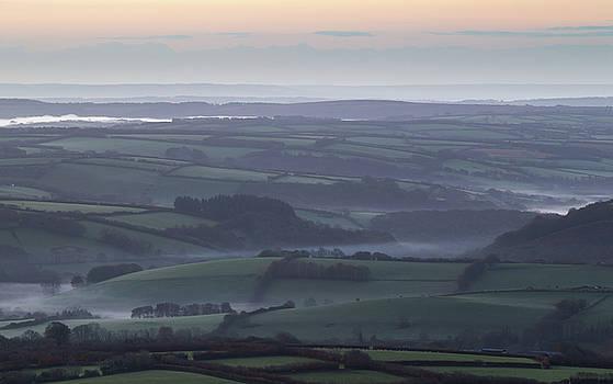 Misty Morning on Exmoor  by Andy Myatt