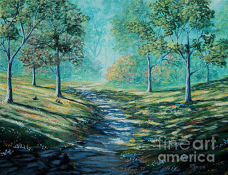 Misty Morning Path by Ruanna Sion Shadd a'Dann'l Yoder