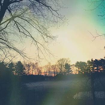 Misty Morning Sunrise (via #afterlight by Lisa Pearlman