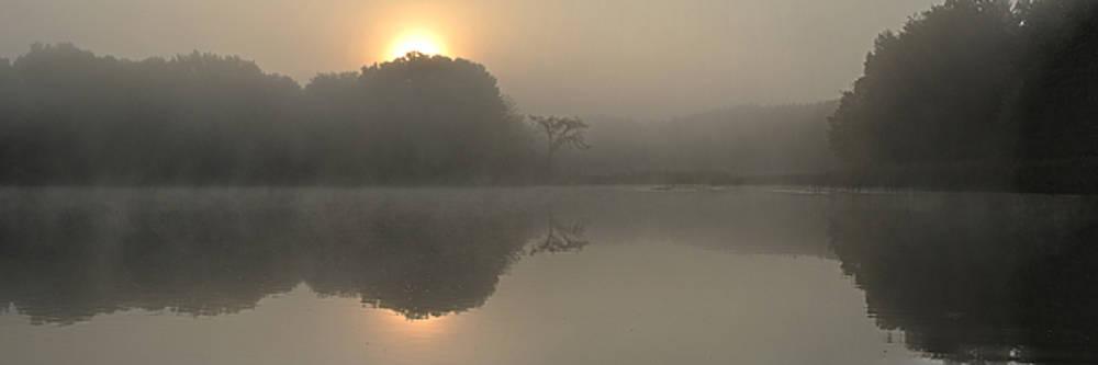 Misty Morning Water by Lee Wolf Winter