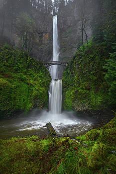 Chris Steele - Misty Multnomah Falls