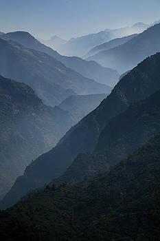 Misty Peaks by Timothy Johnson
