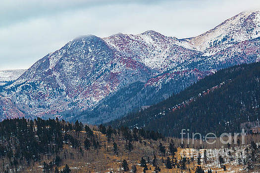 Steve Krull - Misty Pikes Peak Winter
