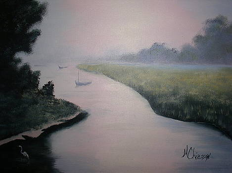 Misty Sailing by Monica Chiasson