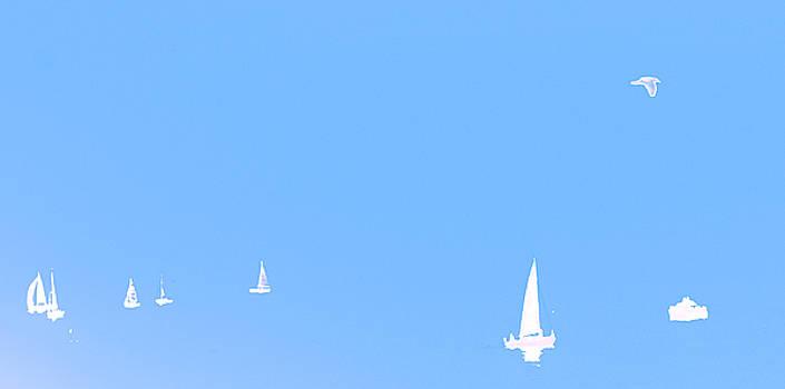 Misty Sea 3 by Darren Kearney